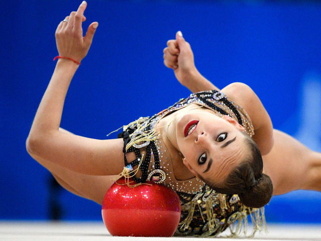 Averina settles for less than perfection with gold and bronze at Rhythmic Gymnastics World Championships