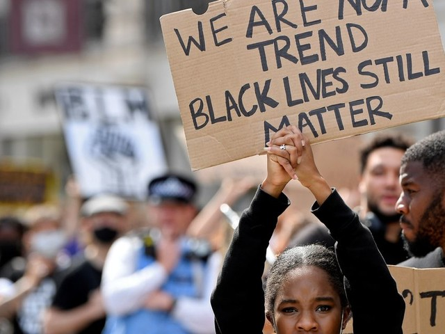 Black Lives Matter UK Grants To Fund Vital Domestic Abuse Study And Police Monitoring Training