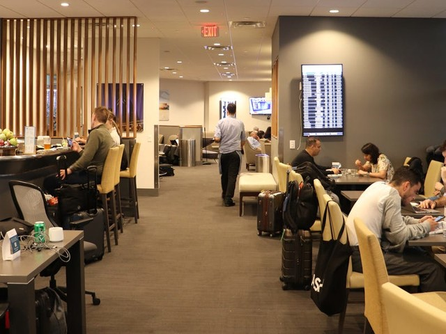 Orlando Airport has two of the same lounges. I used my credit card perk to access both and found one was way better.