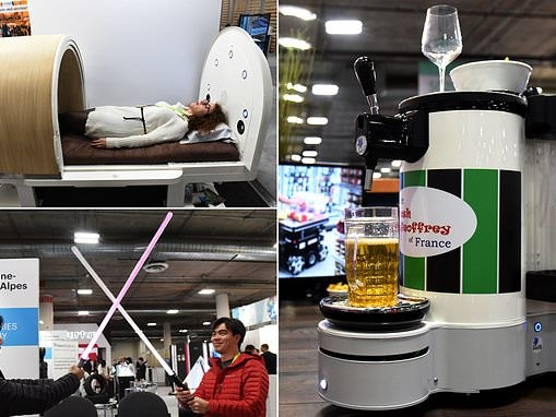 CES wraps up with futuristic new products from all around the world (but are gadgets now too nosy?)
