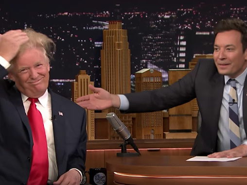Jimmy Fallon Regrets His Hair Ruffling Trump Interview: 'I Did Not Do It To Normalize Him'