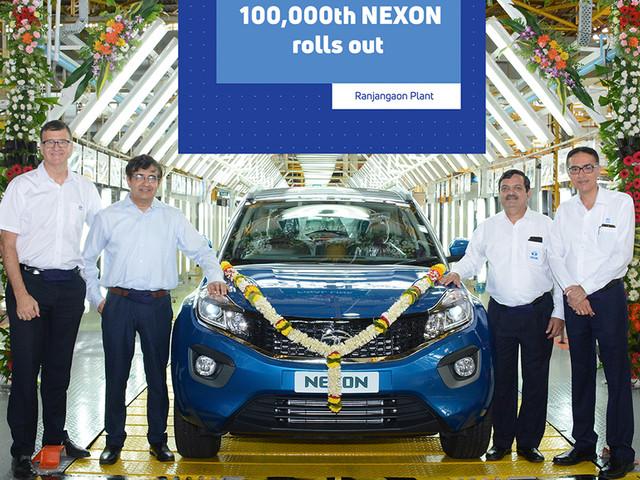 Tata Nexon crosses 1 lakh-unit production milestone