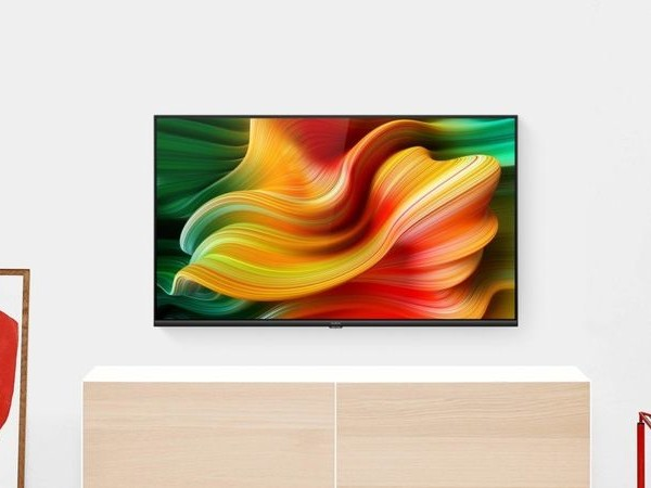 Immersive Imagery Smart Televisions - The realme Smart Android TV Has a Crisp LED Display (TrendHunter.com)