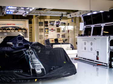An Airbnb with a difference: I slept in the Williams F1 garage at Silverstone
