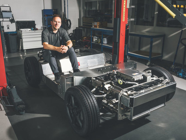 How Delta Motorsport has reinvented the test mule