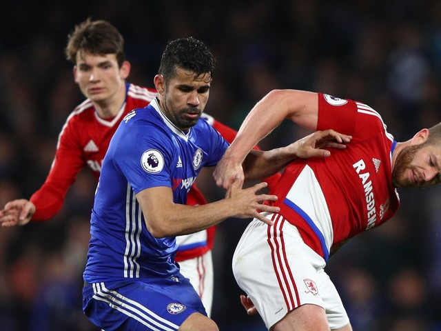 Diego Costa delighted to show up Chelsea's critics by winning the Premier League again