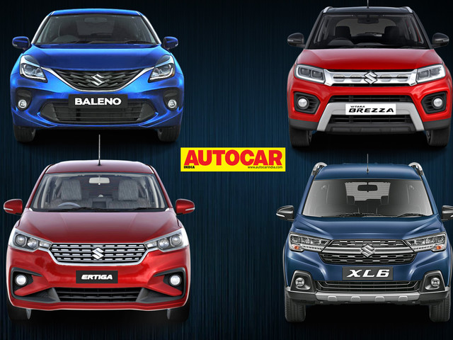 Maruti Suzuki lines up updated model range for India