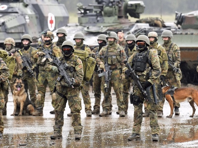 A secret planning document by the German army says the EU could collapse by 2040