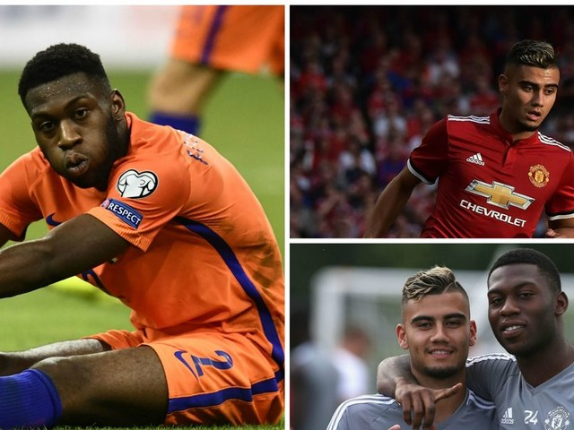 Manchester United player Andreas Pereira has taken a risk