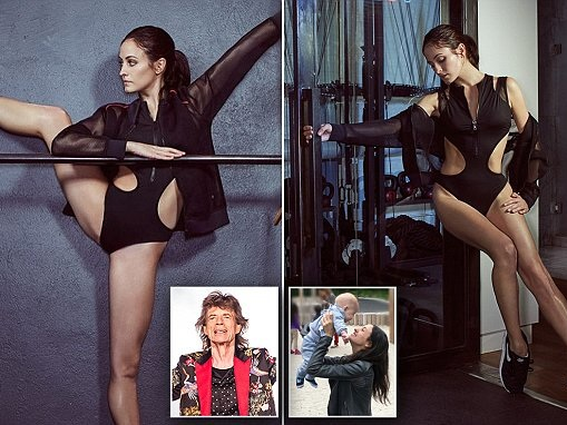 Ballerina Melanie Hambrick shows off her abs in new shoot