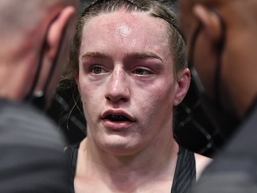 Aspen Ladd's coach Jim West gives her brutal rebuke during defeat to Norma Durmont in UFC Vegas 40