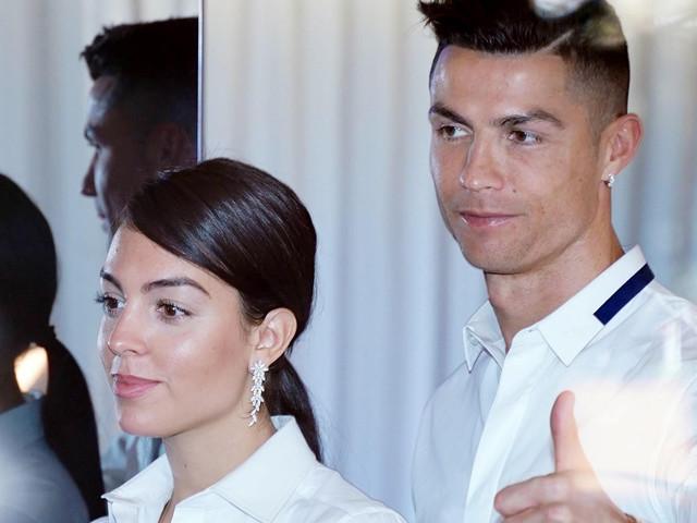 Cristiano Ronaldo Couples Up With Georgina Rodriguez at Hair Company Opening