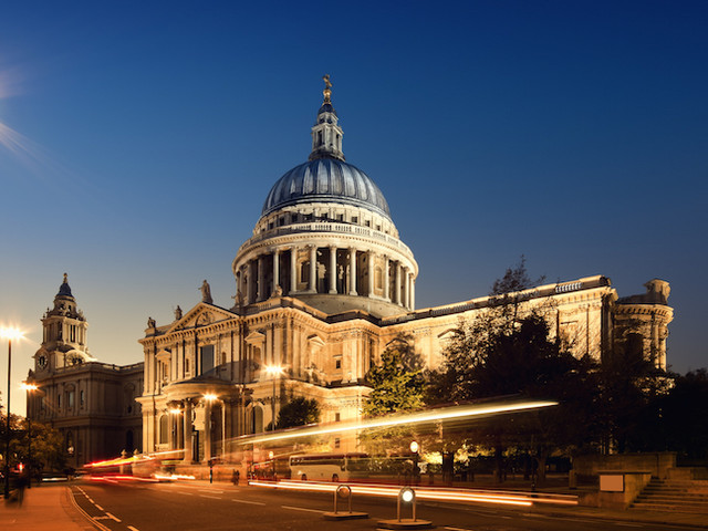 Historic Scenes To Be Projected Onto St Paul's Cathedral In Dusk Light Show