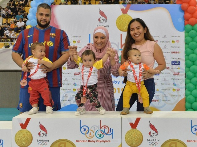 Bahrain Olympic Committee holds second Baby Games