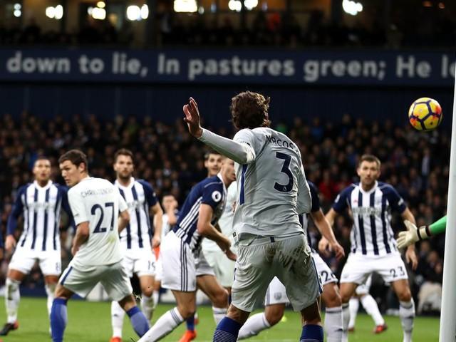 West Brom vs. Chelsea, Premier League: Half-time report