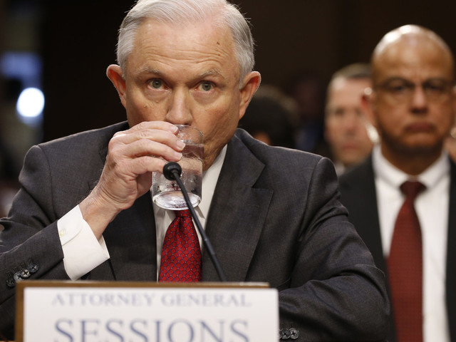 Jeff Sessions Says 'Nothing Wrong' With The FBI Director Talking To The President