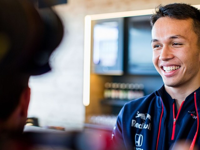 F1: Albon to replace Gasly at Red Bull Racing
