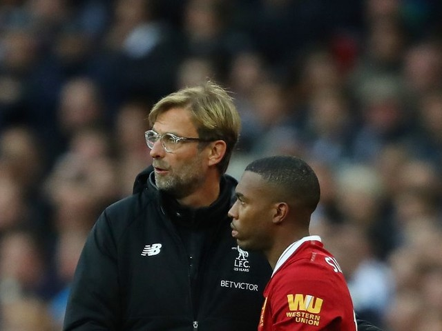 Wantaway Daniel Sturridge told he's going nowhere by Liverpool boss Jurgen Klopp