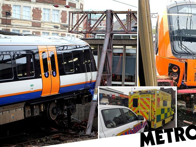 Train driver who crashed into London station barriers 'was on cocaine'