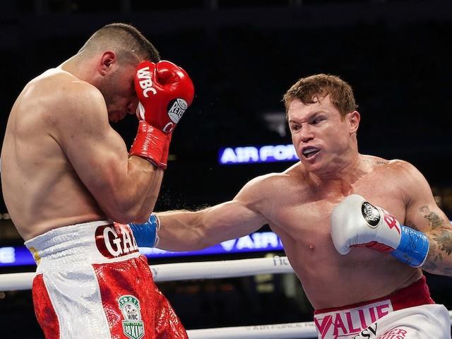 Billy Joe Saunders to fight Canelo Alvarez after Mexican KOs Avni Yilidirm