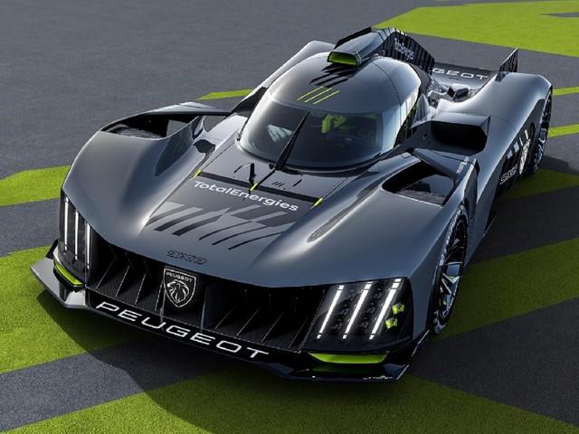 Peugeot 9X8 Le Mans Hypercar racer revealed