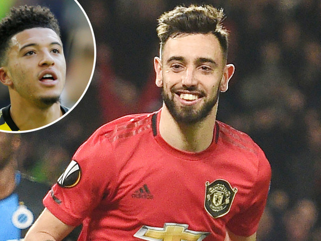 Bruno Fernandes is key to Man Utd's Champions League hopes – and will boost chance of Jadon Sancho transfer in summer