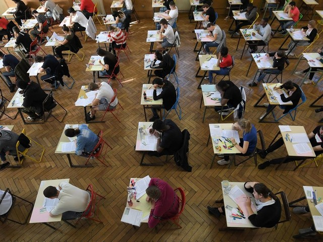 A-level grade boundaries leaked hours before results revealed