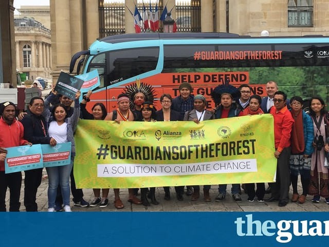 'For us, the land is sacred': on the road with the defenders of the world's forests