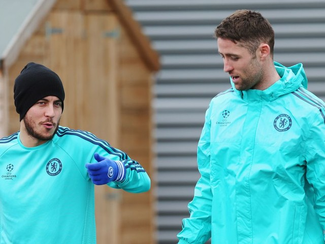 Cahill hopes for a 'good' draw with Hazard ready to take on all comers