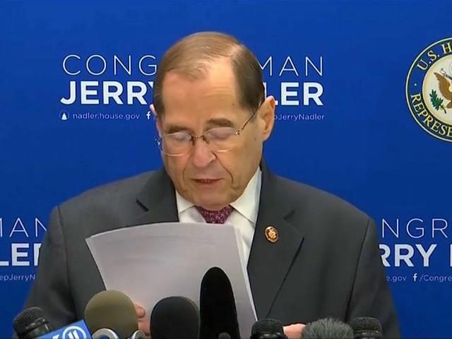 Democrats issue subpoena for full version of Mueller report