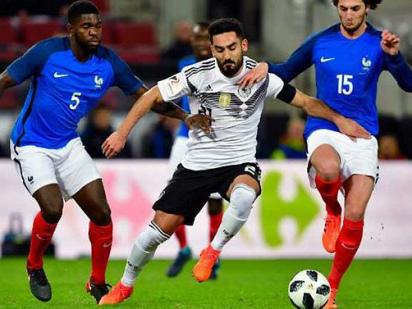 Stindl denies France, Spain held by Russia