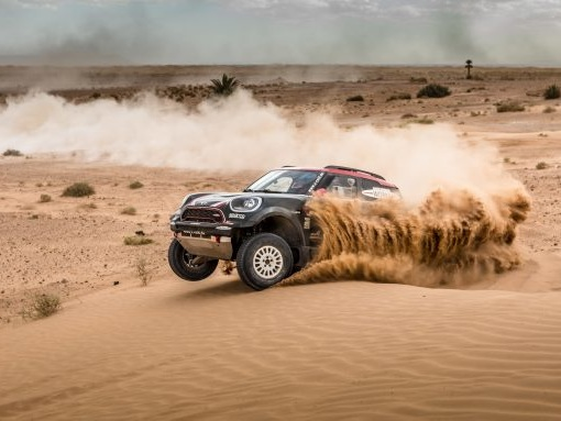 Mini Running Dakar with AWD Rally and RWD Buggy Models