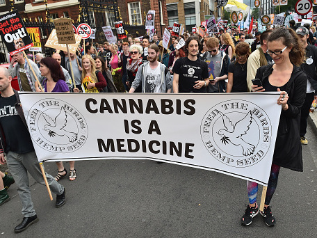 From Leicester to Galashiels and North Pickenham, cannabis is the drug of choice