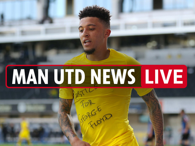 4pm Man Utd news LIVE: Sherwood says Jack Grealish to Utd is 'DONE deal', Jadon Sancho LATEST, Bruno Fernandes updates