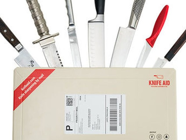 Mail in your knives and this service will sharpen them for you