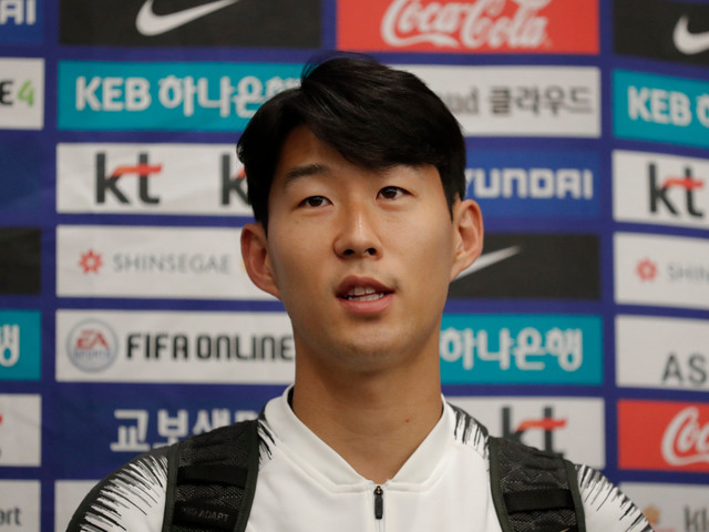 Spurs ace Son Heung-min claims he was lucky to escape South Korea's 'war-like' derby without injury