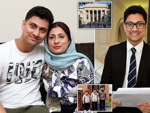 Student, 18, who was rejected by Cambridge University is awarded a £250,000 scholarship