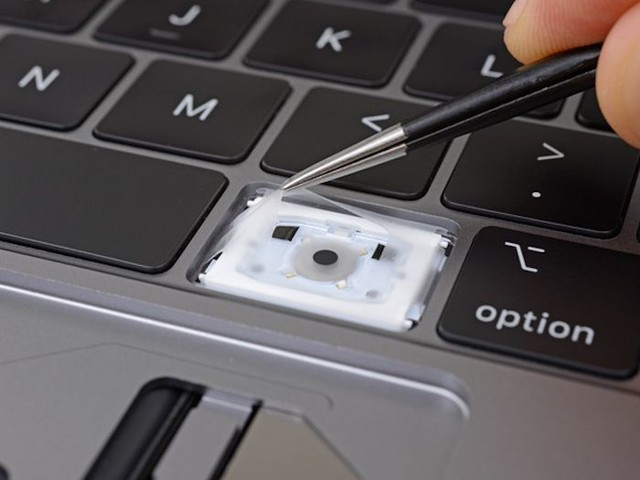New MacBook Pro Keyboard Has A Better Way To Repel Dust