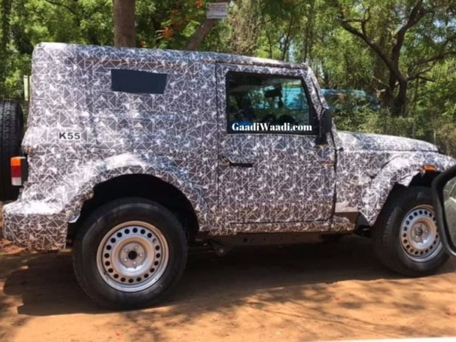 2020 Mahindra Thar Hardtop Spied On Test Again, To Be Bigger In Dimensions