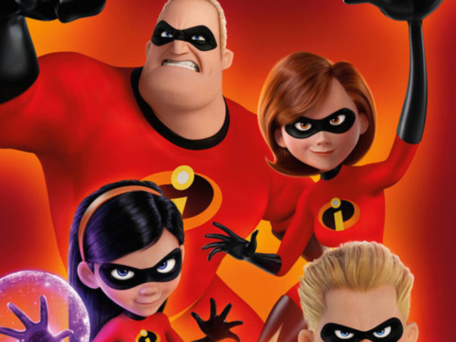 Incredibles 2 new poster has some family bonding time