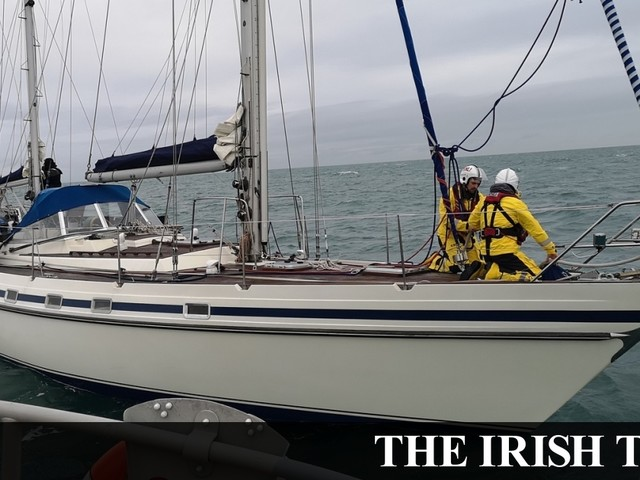 Two people rescued from boat at risk of sinking off Howth