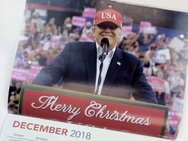 The GOP created a Trump-themed calendar and the possibilities are endless