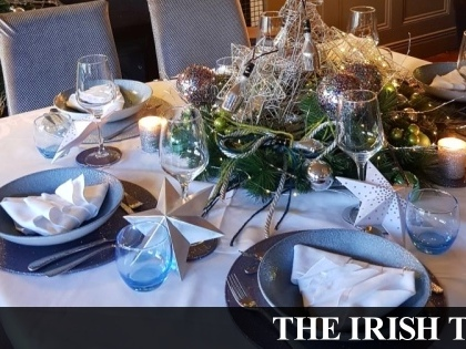 Go big, go bling: how three top chefs set their tables at Christmas