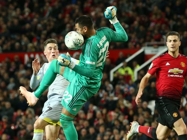 Manchester United 2-2 Derby: Phil Jones awful and Sergio Romero just as bad - how they rated