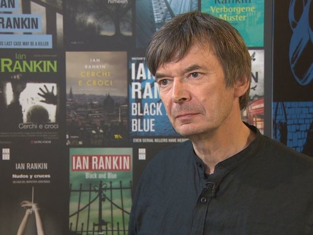 Edinburgh author Ian Rankin hints of end to Rebus