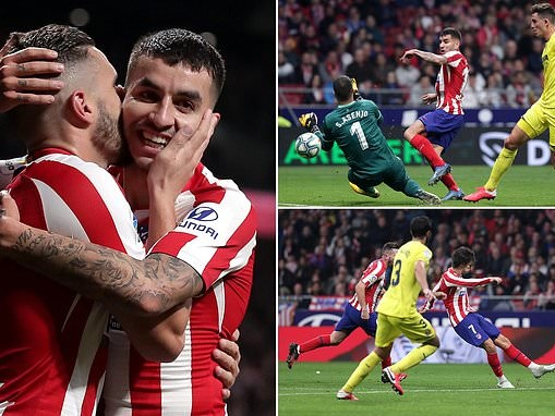 Atletico Madrid 3-1 Villarreal: Atleti return to La Liga top four as Joao Felix finally finds net