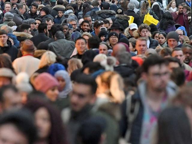 UK's 'unsustainable' population rises to 66.4 million