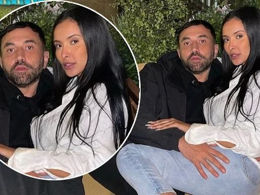 Maya Jama sparks romance rumours with Burberry boss Riccardo Tisci