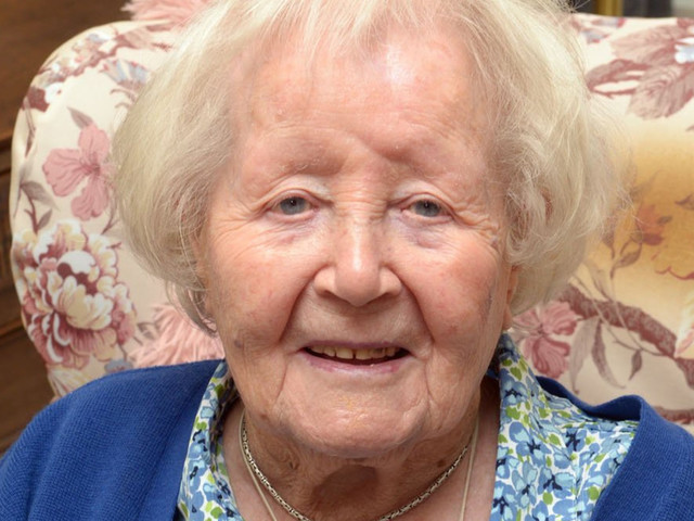 107-Year-Old Says Daily Glass Of Whiskey Is The Key To Her Longevity