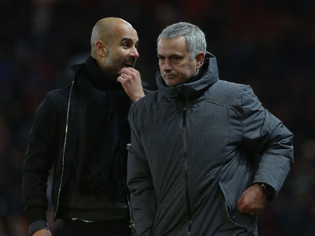 Pep Guardiola not bothered Jose Mourinho was offended by Manchester City celebrations